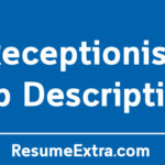 Receptionist Job Description Sample