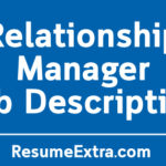 Relationship Manager Job Description Sample