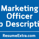 Marketing Officer Job Description Sample