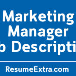 Marketing Manager Job Description Sample