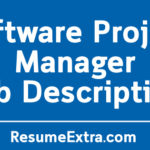 Software Project Manager Job Description Sample