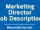 Marketing Director Job Description Sample