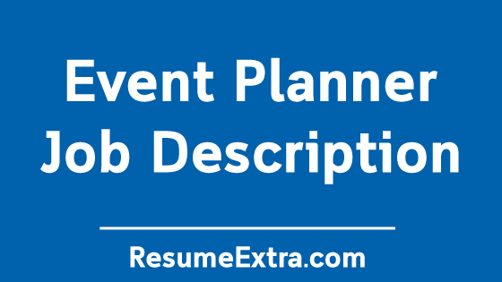 Event Planner Job Description Sample
