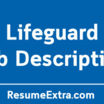 Life Guard Job Description Sample