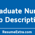 Graduate Nurse Job Description Sample
