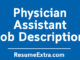 Physician Assistant Job Description Sample