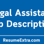 Legal Assistant Job Description Sample