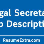 Legal Secretary Job Description Sample