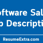 Software Sales Job Description Sample