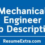 Mechanical Engineer Job Description Sample