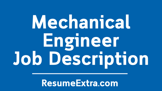 Mechanical Engineer Job Description Sample