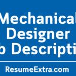 Mechanical Designer Job Description Sample