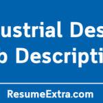Industrial Design Job Description Sample