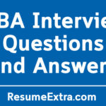 Sample MBA Interview Questions and Answers