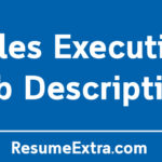 Sales Executive Job Description Sample