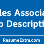 Sales Associate Job Description Sample