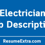 Electrician Job Description Sample