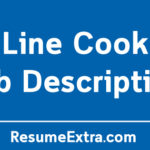 Line Cook Job Description Sample