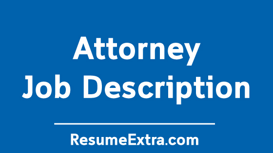 Attorney Job Description Sample