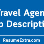 Travel Agent Job Description Sample