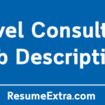 Travel Consultant Job Description Sample