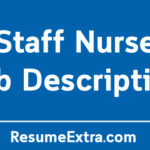 Staff Nurse Job Description Sample