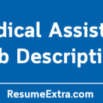 Medical Assistant Job Description Sample