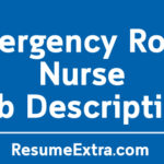 Emergency Room Nurse Job Description Sample