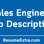 Sales Engineer Job Description Sample