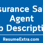 Insurance Sales Agent Job Description Sample