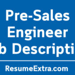 Pre-Sales Engineer Job Description Sample
