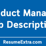 Product Manager Job Description Sample