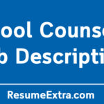School Counselor Job Description Sample