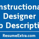 Instructional Designer Job Description Sample