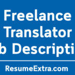 Freelance Translator Job Description Sample