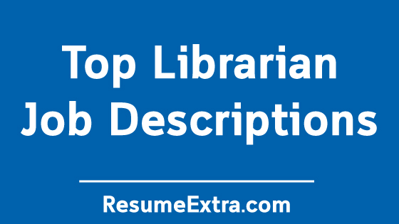 Librarian Job Description Samples